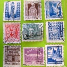 Sellos: ESPAÑA. AÑOS 1941, EDIFIL 961/69 US. ''AÑO SANTO COMPOSTELANO''./ (VER FOTO).. Lote 236274200