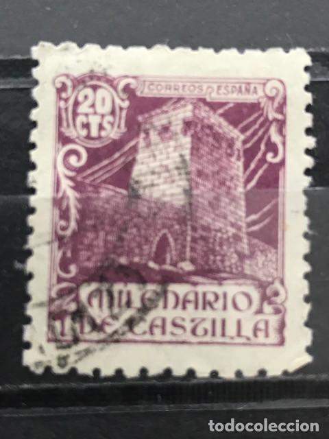 EDIFIL 977 SELLOS USADOS ESPAÑA AÑO 1944 MILENARIO DE CASTILLA (Sellos - España - Estado Español - De 1.936 a 1.949 - Usados)
