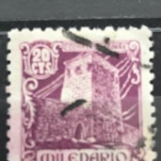 Sellos: EDIFIL 977 SELLOS USADOS ESPAÑA AÑO 1944 MILENARIO DE CASTILLA. Lote 236799915