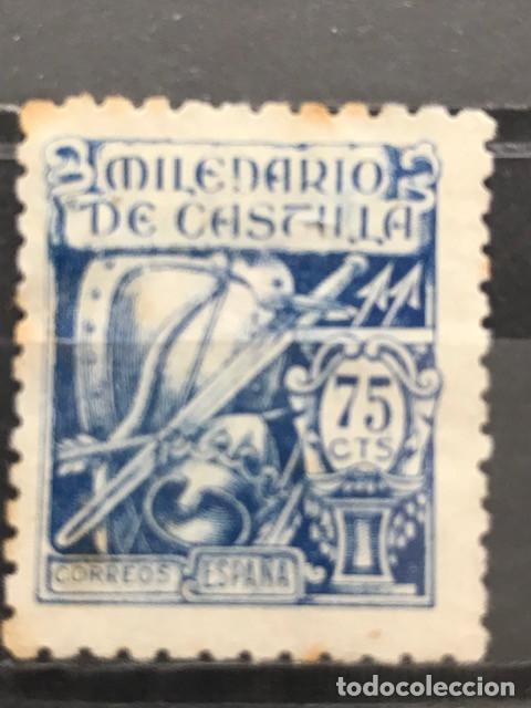 EDIFIL 979 SELLOS USADOS ESPAÑA AÑO 1944 MILENARIO DE CASTILLA (Sellos - España - Estado Español - De 1.936 a 1.949 - Usados)