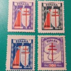 Sellos: ESPAÑA. 1943. EDIFIL 970/973**. NUEVOS.. Lote 240949770