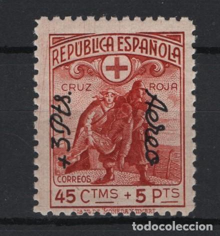 TV_003 / EDIFIL 768 MH* ( CON FIJASELLOS) CRUZ ROJA ESPAÑOLA (Sellos - España - Estado Español - De 1.936 a 1.949 - Nuevos)