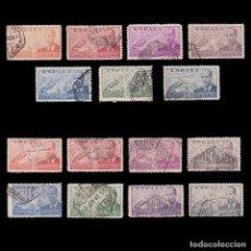 Sellos: 1939-47.JUAN LA CIERVA.2 SERIES USADO EDIFIL 880-886/940-947. Lote 244653945