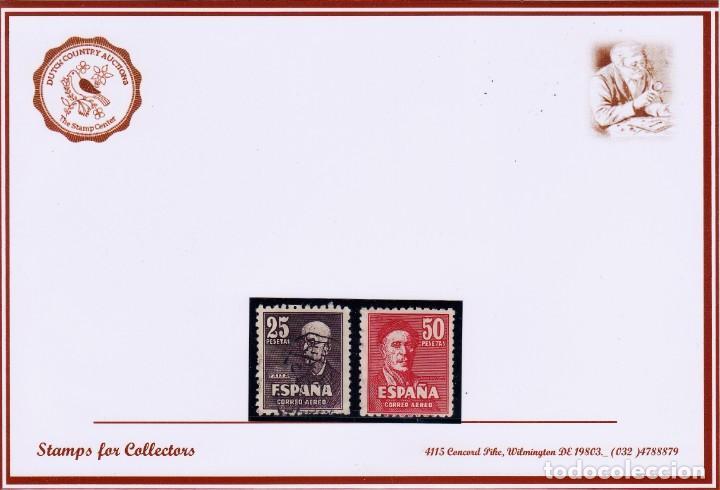 EDIFIL 1015/6, PRECIO DE CATALOGO 2020, 70 EUROS (Sellos - España - Estado Español - De 1.936 a 1.949 - Usados)