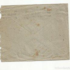 Sellos: CIRCULADA 1946 DE PENSION GIRALDA DE MURCIA A JATIVA XATIVA VALENCIA CON RODILLO VIGILIA DIOCESANA. Lote 245017575