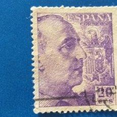 Sellos: USADO. AÑO 1940-1945. EDIFIL 922. GENERAL FRANCO.. Lote 245428085