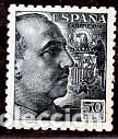 ESPAÑA.- SELLO Nº 927 FRANCO DENTADO GRUESO NUEVO SIN CHARNELA. (Sellos - España - Estado Español - De 1.936 a 1.949 - Nuevos)