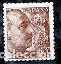 ESPAÑA.- SELLO Nº 935 FRANCO DENTADO GRUESO NUEVO SIN CHARNELA. (Sellos - España - Estado Español - De 1.936 a 1.949 - Nuevos)