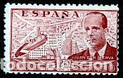 ESPAÑA.- Nº 940 JUAN DE LA CIERVA NUEVO SIN CHARNELA. (Sellos - España - Estado Español - De 1.936 a 1.949 - Nuevos)