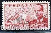 ESPAÑA.- Nº 941 JUAN DE LA CIERVA NUEVO SIN CHARNELA. (Sellos - España - Estado Español - De 1.936 a 1.949 - Nuevos)