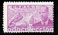 ESPAÑA.- Nº 942 JUAN DE LA CIERVA NUEVO SIN CHARNELA. (Sellos - España - Estado Español - De 1.936 a 1.949 - Nuevos)
