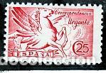 ESPAÑA.- Nº 952 PEGASO CORREO URGENTE NUEVO SIN CHARNELA. (Sellos - España - Estado Español - De 1.936 a 1.949 - Nuevos)