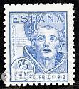 ESPAÑA.- Nº 956 SAN JUAN DE LA CRUZ NUEVO SIN CHARNELA. (Sellos - España - Estado Español - De 1.936 a 1.949 - Nuevos)