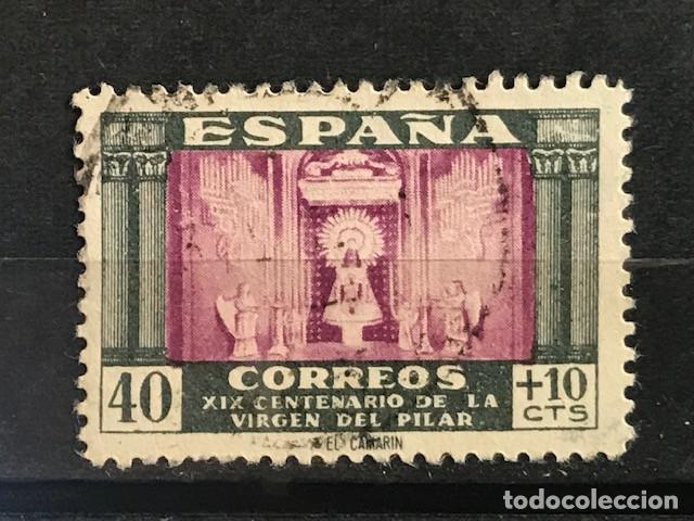 EDIFIL 998 SELLOS USADOS ESPAÑA AÑO 1946 VIRGEN DEL PILAR (Sellos - España - Estado Español - De 1.936 a 1.949 - Usados)