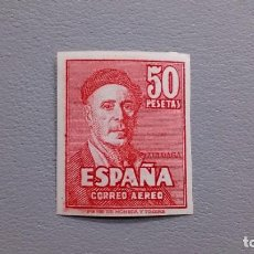 Sellos: ESPAÑA - 1947 - ESTADO ESPAÑOL - EDIFIL 1016 S - SIN DENTAR - MNH** - NUEVO - AEREO - ZULOAGA.. Lote 246598505