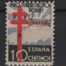 Sellos: TV_003/ 866 ** 1938, PRO TUBERCULOSOS, SIN FIJASELLOS. Lote 247988705