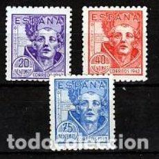 Francobolli: ESPAÑA.- Nº 954/56 SAN JUAN DE LA CRUZ NUEVO CON CHARNELA.. Lote 248619545