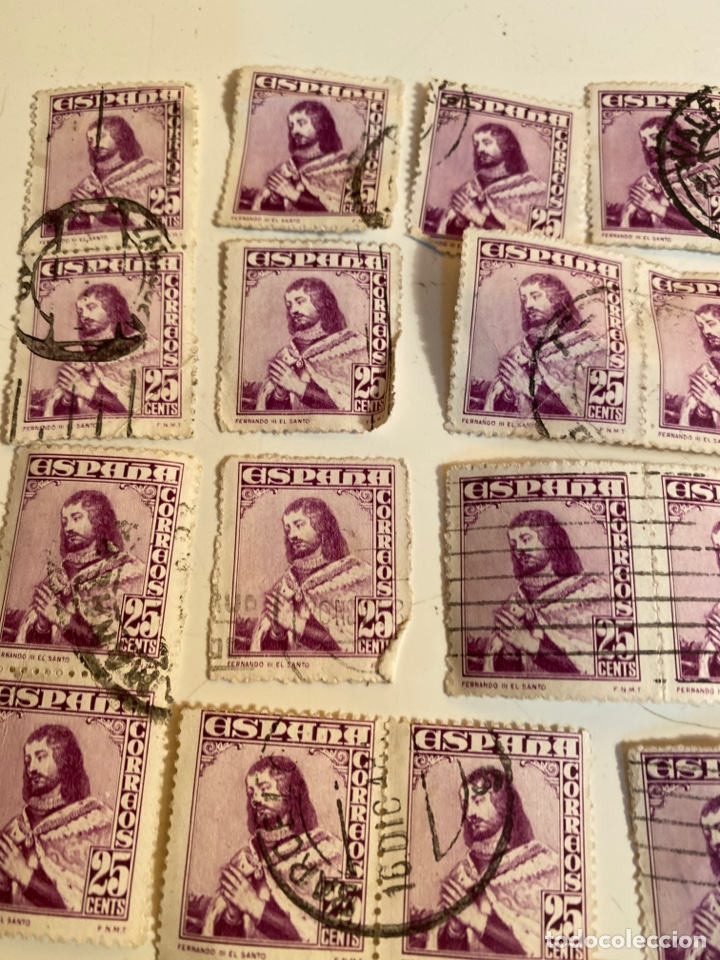 Sellos: Lote sellos 25 cts - Foto 2 - 249275365