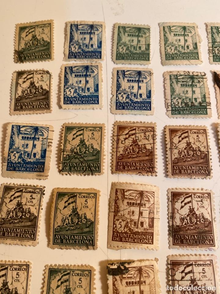 Sellos: Lote sellos ayuntamiento de barcelona - Foto 2 - 249303055