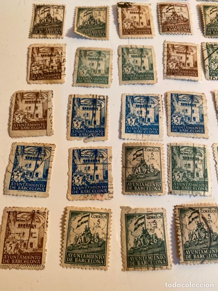 Sellos: Lote sellos ayuntamiento de barcelona - Foto 3 - 249303055