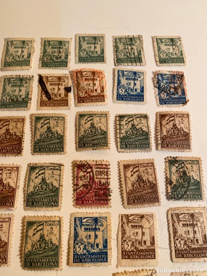 Sellos: Lote sellos ayuntamiento de barcelona - Foto 4 - 249303055