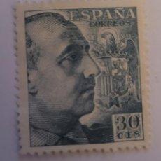 Sellos: SELLO DE ESPAÑA 1940. GENERAL FRANCO. 30 CTS. NUEVO. Lote 252142010