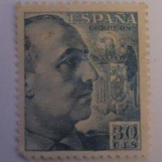 Sellos: SELLO DE ESPAÑA 1940. GENERAL FRANCO. 30 CTS. NUEVO. Lote 252142100