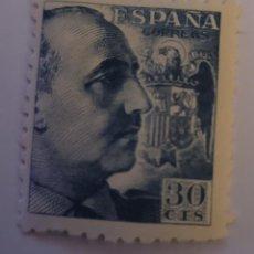 Sellos: SELLO DE ESPAÑA 1940. GENERAL FRANCO. 30 CTS. NUEVO. Lote 252142230