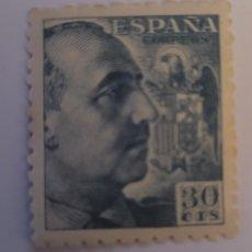 Sellos: SELLO DE ESPAÑA 1940. GENERAL FRANCO. 30 CTS. NUEVO. Lote 252142300
