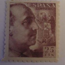 Sellos: SELLO DE ESPAÑA 1940. GENERAL FRANCO. 25 CTS. NUEVO. Lote 252142610