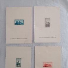 Selos: ESPAÑA 1938 EDIFIL SH 847 SOBRECARGA MUESTRA - MONUMENTO HISTÓRICOS. Lote 252448335