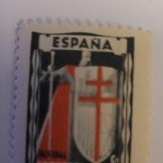 Sellos: SELLO DE ESPAÑA 1943. CONTRA LA TUBERCULOSIS 20+5 CTS. NUEVO.. Lote 252578660