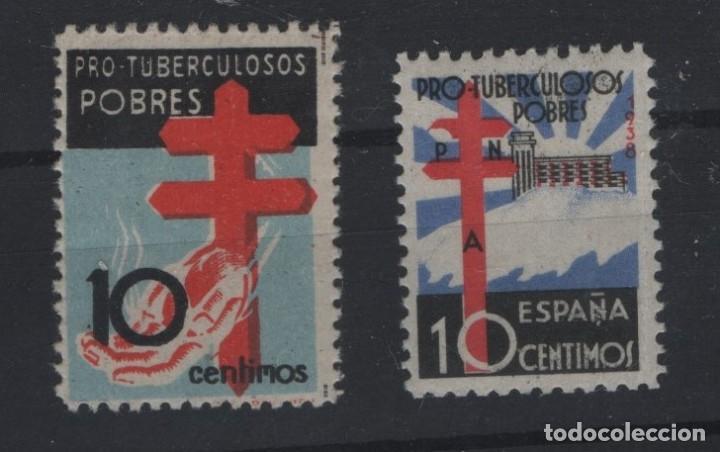 R81/ ESPAÑA 1937-38, EDIFIL 840 **, 866*, (Sellos - España - Estado Español - De 1.936 a 1.949 - Nuevos)