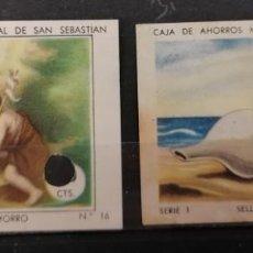 Sellos: CAJA DE AHORROS DE S.SEBASTIAN. SELLOS DE AHORRO, **(21-353). Lote 253079980