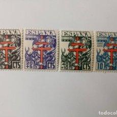Selos: PRO. TUBERCULOSOS DEL AÑO 1941 EDIFIL 948/951 EN NUEVO** BIEN CENTRADOS. Lote 253260700