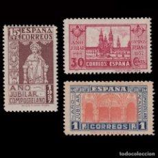 Sellos: 1937 AÑO JUBILAR COMPOSTELANO.SERIE.NUEVO*.EDIFIL.833-834. Lote 253600960