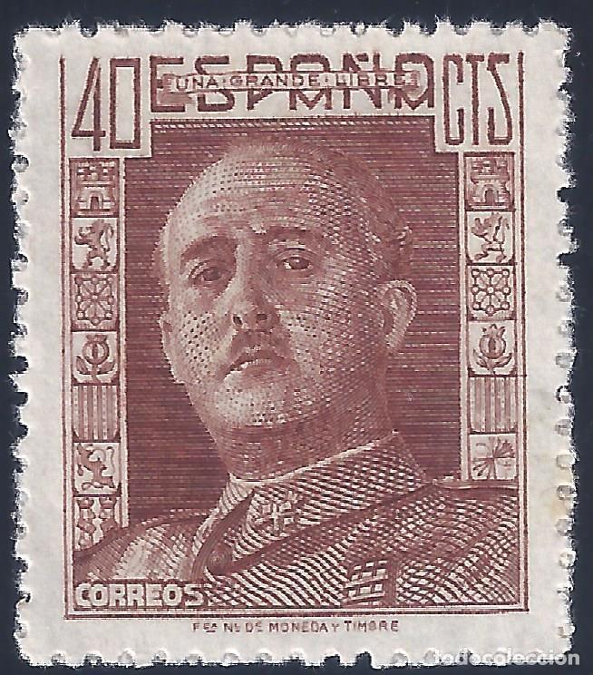 EDIFIL 953 GENERAL FRANCO 1942. MNH ** (Sellos - España - Estado Español - De 1.936 a 1.949 - Nuevos)