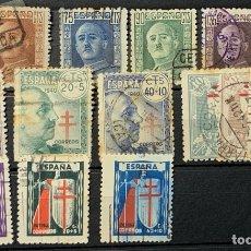 Sellos: FICHA SELLOS FRANCO Y TUBERCULOSOS. Lote 253920125