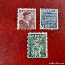 Sellos: ESPAÑA 1946. EDIFIL 1002/4**. NUEVOS. Lote 254065745