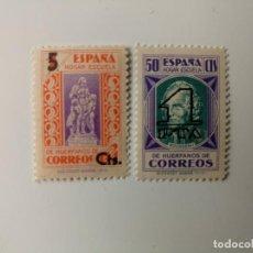 Selos: BENEFICENCIA DEL AÑO 1938 EDIFIL 27/28 EN NUEVO**. Lote 254126350