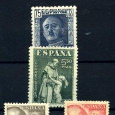 Sellos: ESPAÑA Nº 999, 1004, 1057/8. AÑO 1946/49. Lote 254145265