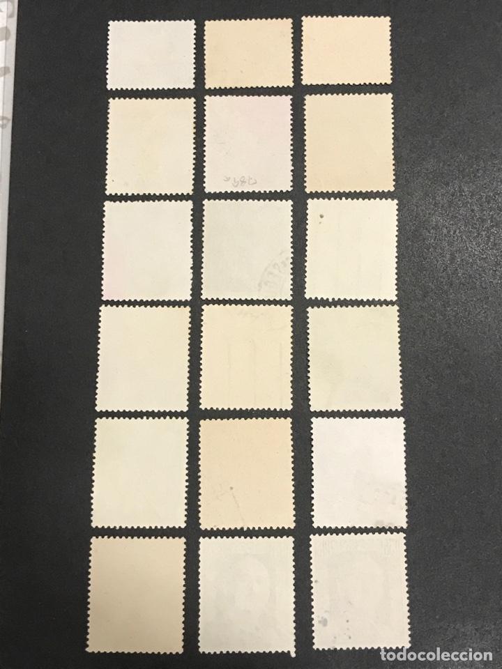 Sellos: Edifil 1044 1061 Cid y Franco, serie usada, los de las fotos, en buen estado - Foto 4 - 254280430