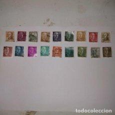 Sellos: 18 SELLOS DE FRANCO. Lote 254292600