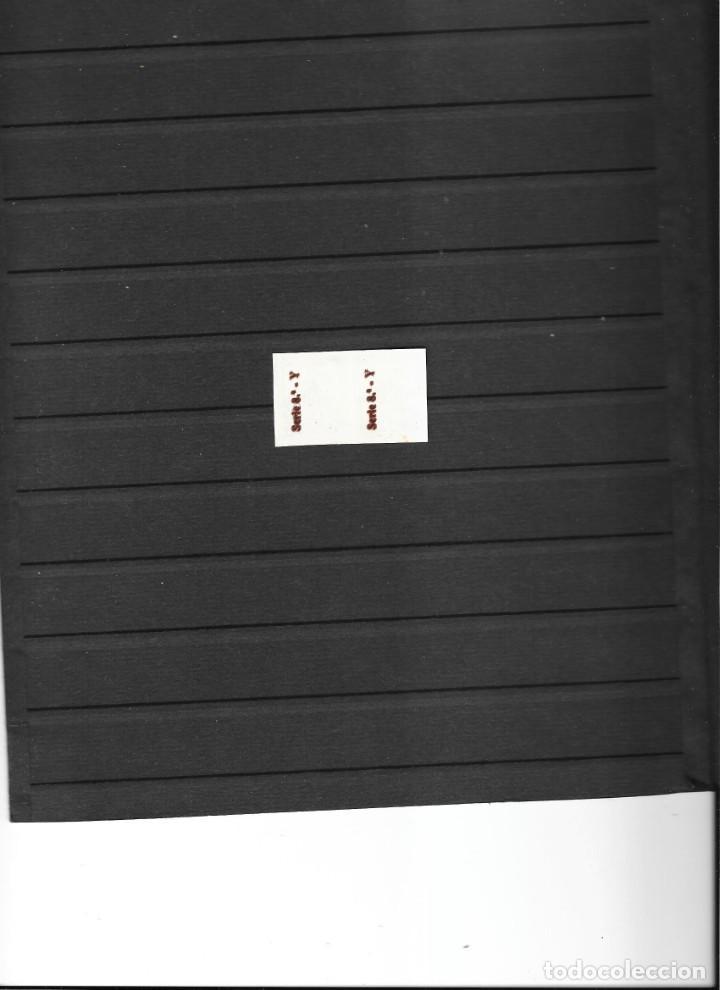 Sellos: AYUNTAMIENTO DE BARCELONA PAREJA NUEVA SIN GOMA SIN DENTAR DOBLE IMPRESION RAREZA - Foto 2 - 254292890