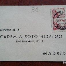 Sellos: TARJETA POSTAL. ACADEMIA SOTO . MADRID.. Lote 254509085