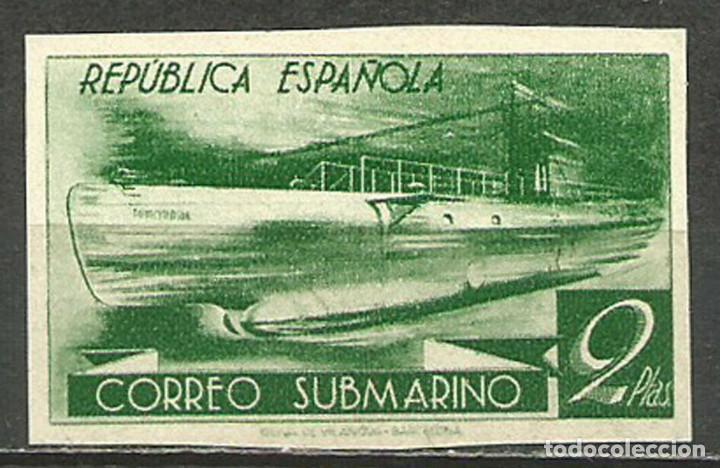 EDIFIL 776 MNH SELLOS ESPAÑA NUEVOS ** 1938 SUBMARINO (Sellos - España - Estado Español - De 1.936 a 1.949 - Nuevos)