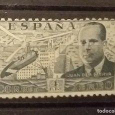 Sellos: ESPAÑA - JUAN DE LA CIERVA . CORREO AÉREO . 1939 . 4 PTS - NUEVO*. Lote 256050180