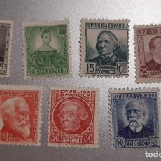 Sellos: ESPAÑA 1933/53. EDIFIL 681/688**. NUEVOS CON CENTRADO ACEPTABLE. Lote 257226880