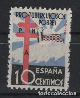 TV_003/ ESPAÑA 1938, EDIFIL 866 MNH**, PRO TUBERCULOSOS (Sellos - España - Estado Español - De 1.936 a 1.949 - Nuevos)