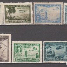 Selos: ESPAÑA,1930, EDIFIL 583/588 Y 591.. Lote 259928300